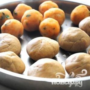 Индийский хлеб - фото шаг 3