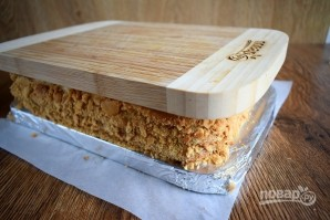 Медовое пирожное с начинкой - фото шаг 14