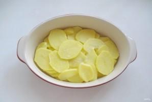 Судак в сметане с картофелем - фото шаг 3