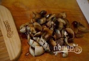 Блинчики с грибами - фото шаг 4