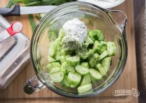 Салат с огурцом и йогуртом - фото шаг 3