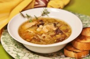 Луковый суп с курицей - фото шаг 9