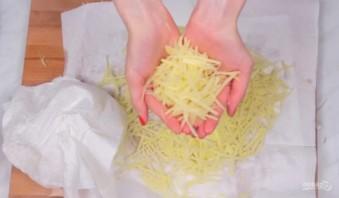 Хрустящая картофельная соломка - фото шаг 2