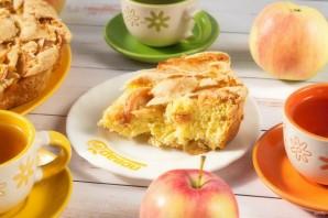 """Пирог с яблоками """"Шарлотка"""" - фото шаг 7"""