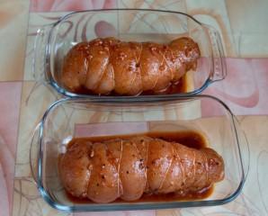 Бастурма из курицы в духовке - фото шаг 5