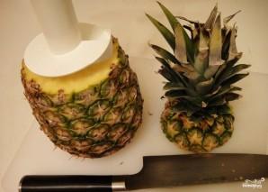 Десерт из свежего ананаса - фото шаг 2