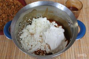 Карамельный торт без выпечки - фото шаг 10