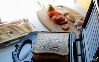 Тосты в бутерброднице - фото шаг 2