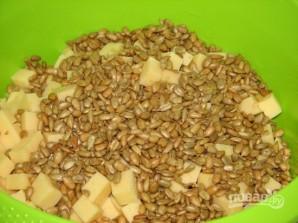 Салат из консервированных ананасов - фото шаг 3