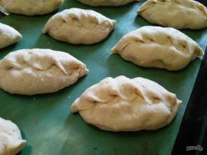 Постные гороховые пирожки - фото шаг 14