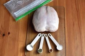 Куриная грудка су-вид - фото шаг 1