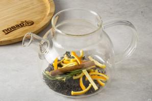 Чай с розмарином и апельсином - фото шаг 3