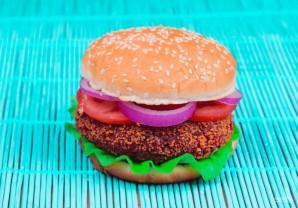 Веганский бургер - фото шаг 4