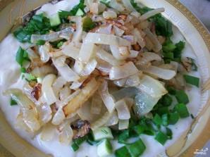 Картошка в духовке со сметаной и сыром - фото шаг 5