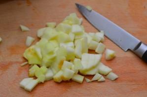Слоеные пирожки с яблоками из готового теста - фото шаг 1