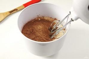 Шоколадно-банановый пирог - фото шаг 4