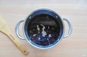Виноградный кисель - фото шаг 3