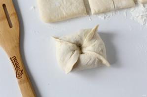 Конвертики с мясом и картошкой - фото шаг 7