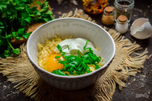 Ленивые хачапури на сковороде - фото шаг 4