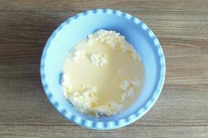 Крем с халвой для торта - фото шаг 3