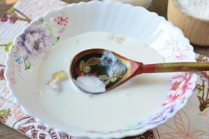 Овсяное печенье на кефире с бананом - фото шаг 4