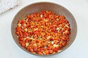 Рис с горохом и сладким перцем - фото шаг 3