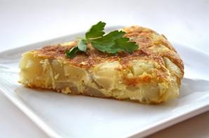Омлет с картошкой в духовке - фото шаг 7