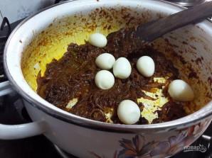 Рис с перепелиными яйцами - фото шаг 3