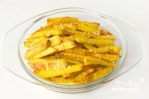 Картофель фри в духовке - фото шаг 7