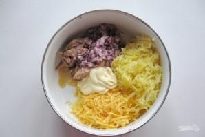 Салат с минтаем - фото шаг 4