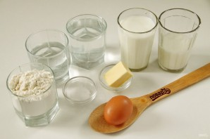 Молочная затирка - фото шаг 1