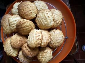 Рассыпчатое кокосовое печенье на кукурузной муке - фото шаг 5