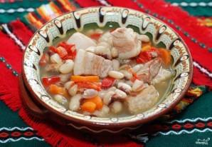 Суп из белой фасоли со свининой - фото шаг 7