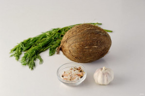 Сало из кокоса