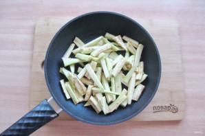 Салат из языка с баклажанами - фото шаг 4