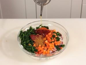 Рис с мясом и овощами на пару - фото шаг 7