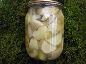 Маринованные белые грибы для супа - фото шаг 5