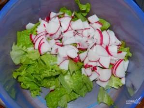 Овощной салат с кукурузой - фото шаг 1