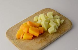 Овощной суп с грушей - фото шаг 2