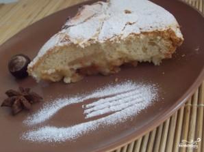 Пирог с кислыми яблоками  - фото шаг 4