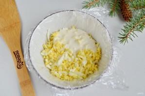 Заливной салат с креветками и авокадо - фото шаг 7