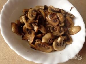 Курица в сливочном соусе с грибами - фото шаг 5