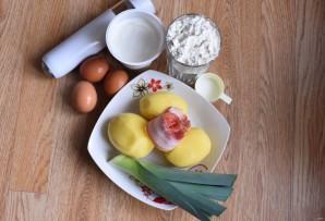 Пирог заливной с картошкой - фото шаг 1