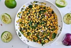 Кукурузная сальса - фото шаг 3