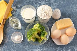 Кексы с брокколи и сыром - фото шаг 1