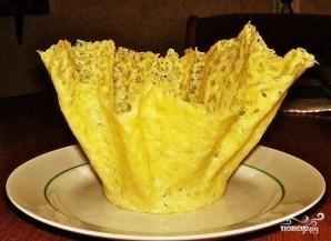 Сырные корзинки - фото шаг 3