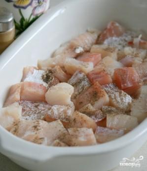 Треска, запеченная в духовке с сыром - фото шаг 2