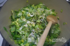 Суп-пюре из горошка с мятой - фото шаг 2