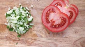 Диетические бутерброды - фото шаг 2