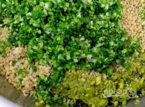 Пхали из зеленой фасоли - фото шаг 5